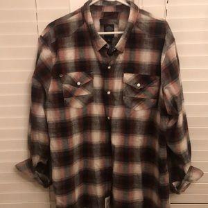 Harley Davidson men's plaid shirt 3XL~~ EUC